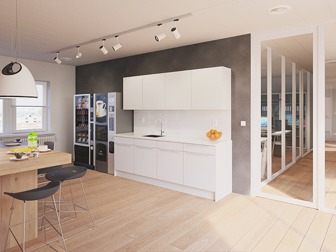 Bribus keuken - keukenontwerp Keukenontwerp 110205 - Studio B