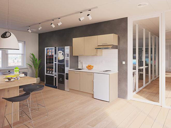 Bribus keuken - keukenontwerp Keukenontwerp 110303 - Studio B