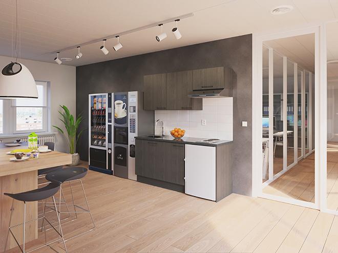 Bribus keuken - keukenontwerp Keukenontwerp 110307 - Studio B