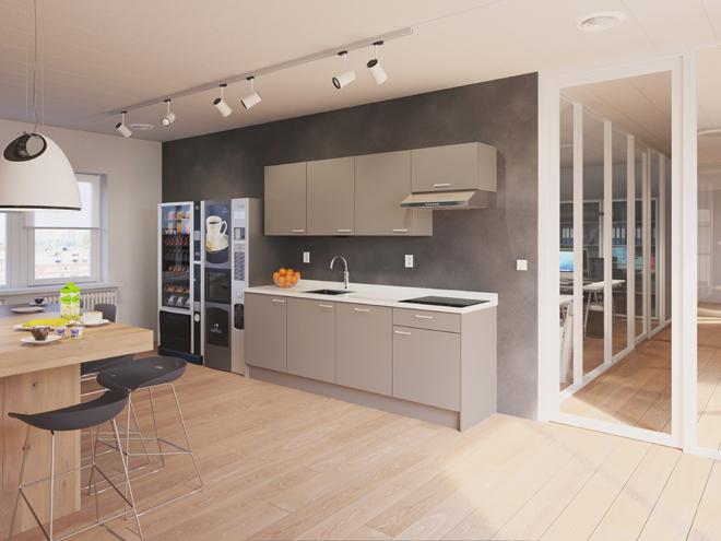 Bribus keuken - keukenontwerp Keukenontwerp 110406 - Studio B
