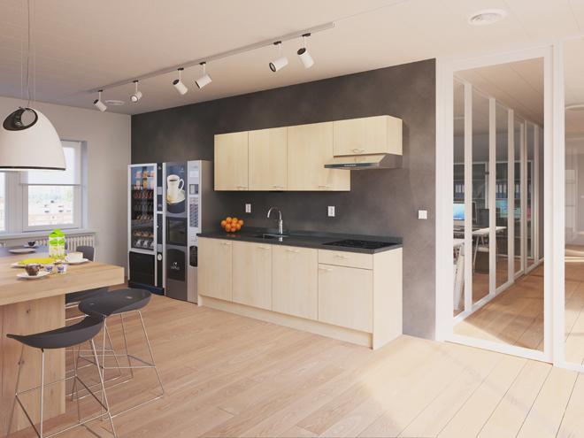 Bribus keuken - keukenontwerp Keukenontwerp 110407 - Studio B