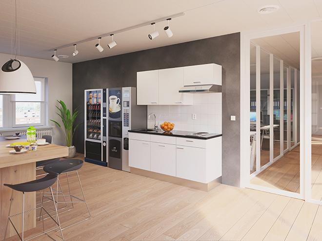 Bribus keuken - keukenontwerp Keukenontwerp 110505 - Studio B