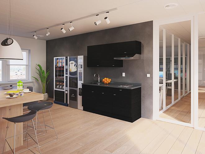 Bribus keuken - keukenontwerp Keukenontwerp 110507 - Studio B
