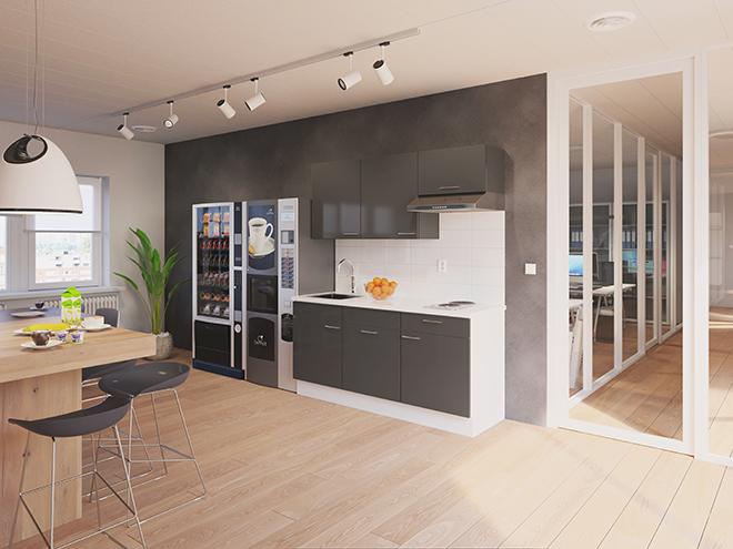 Bribus keuken - keukenontwerp Keukenontwerp 110508 - Studio B