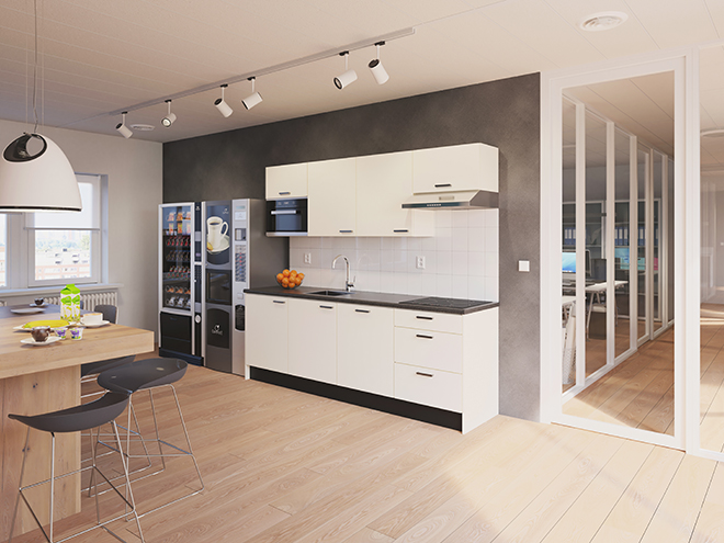 Bribus keuken - keukenontwerp Keukenontwerp 110602 - Studio B