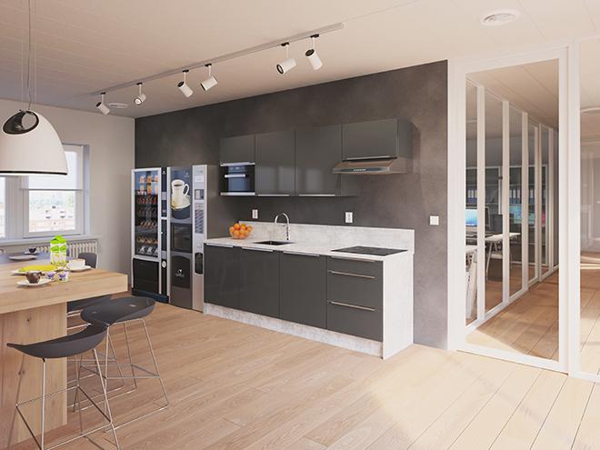 Bribus keuken - keukenontwerp Keukenontwerp 110604 - Studio B