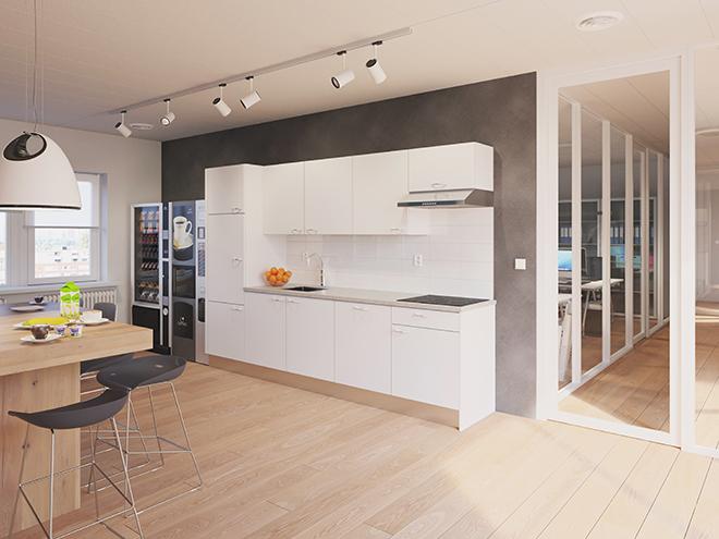 Bribus keuken - keukenontwerp Keukenontwerp 110801 - Studio B