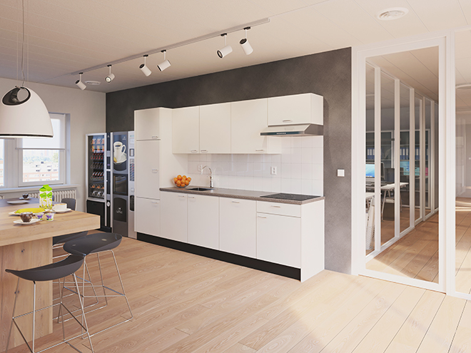 Bribus keuken - keukenontwerp Keukenontwerp 110802 - Studio B
