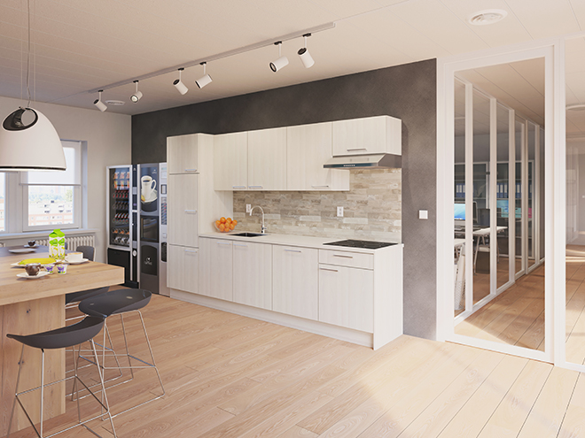 Bribus keuken - keukenontwerp Keukenontwerp 110804 - Studio B