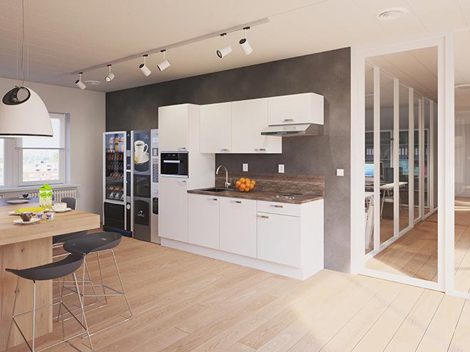 Bribus keuken - keukenontwerp Keukenontwerp 110901 - Studio B