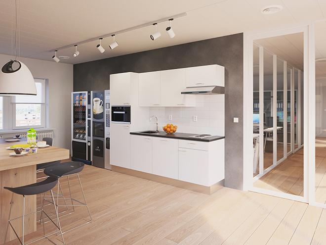Bribus keuken - keukenontwerp Keukenontwerp 110902 - Studio B