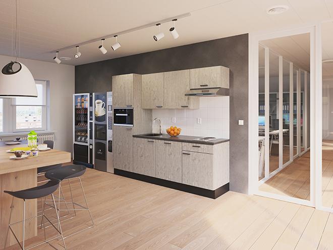 Bribus keuken - keukenontwerp Keukenontwerp 110903 - Studio B