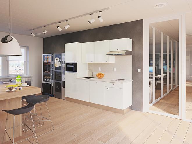 Bribus keuken - keukenontwerp Keukenontwerp 110904 - Studio B