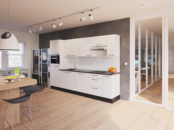 Bribus keuken - keukenontwerp Keukenontwerp 111001 - Studio B