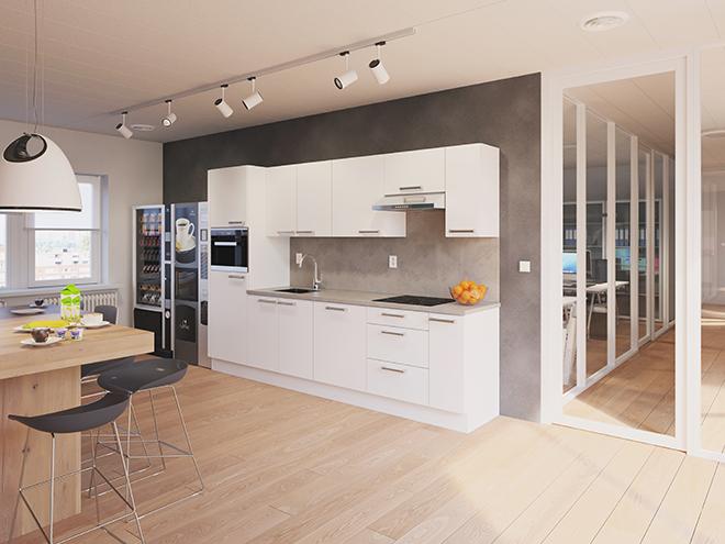 Bribus keuken - keukenontwerp Keukenontwerp 111002 - Studio B