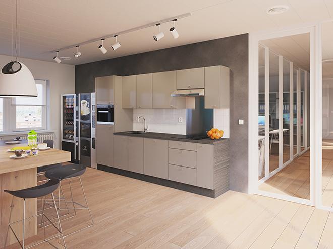 Bribus keuken - keukenontwerp Keukenontwerp 111004 - Studio B