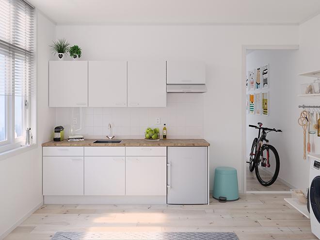Bribus keuken - keukenontwerp Keukenontwerp 122001 - Studio B