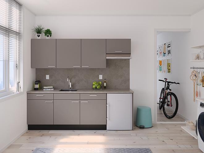 Bribus keuken - keukenontwerp Keukenontwerp 122002 - Studio B