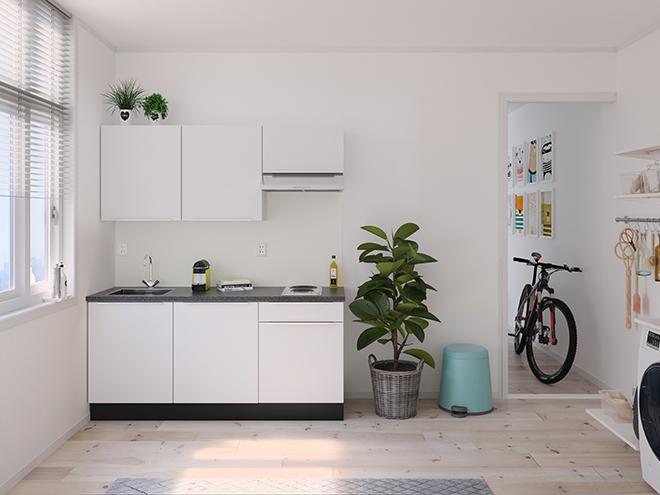 Bribus keuken - keukenontwerp Keukenontwerp 122101 - Studio B