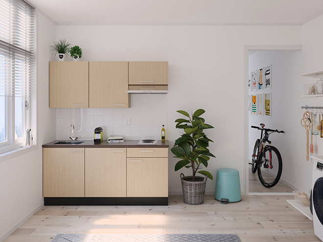 Bribus keuken - keukenontwerp Keukenontwerp 122106 - Studio B