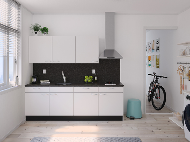 Bribus keuken - keukenontwerp Keukenontwerp 122201 - Studio B