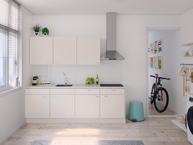 Bribus keuken - keukenontwerp Keukenontwerp 122202 - Studio B