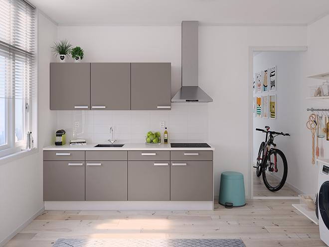 Bribus keuken - keukenontwerp Keukenontwerp 122205 - Studio B