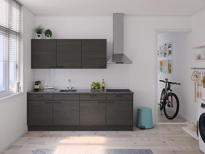 Bribus keuken - keukenontwerp Keukenontwerp 122206 - Studio B