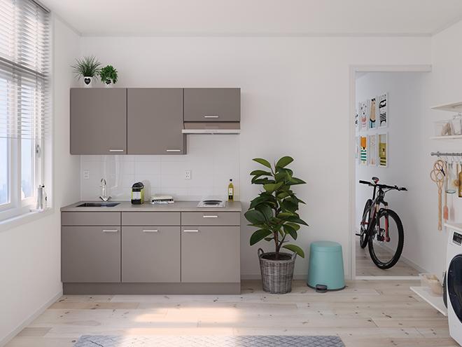 Bribus keuken - keukenontwerp Keukenontwerp 122302 - Studio B
