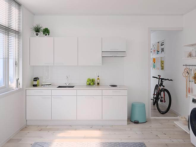 Bribus keuken - keukenontwerp Keukenontwerp 122401 - Studio B