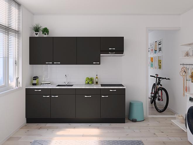 Bribus keuken - keukenontwerp Keukenontwerp 122402 - Studio B