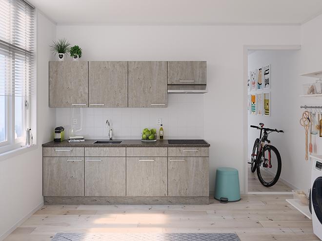Bribus keuken - keukenontwerp Keukenontwerp 122403 - Studio B