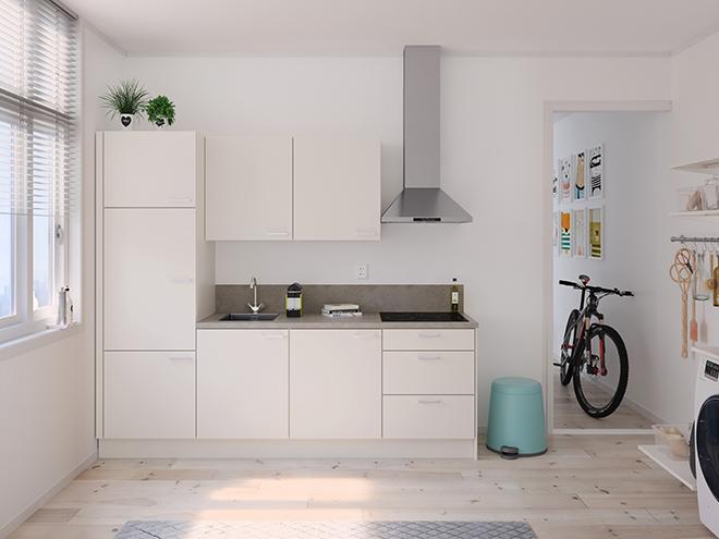 Bribus keuken - keukenontwerp Keukenontwerp 122502 - Studio B