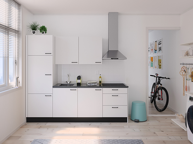 Bribus keuken - keukenontwerp Keukenontwerp 122504 - Studio B