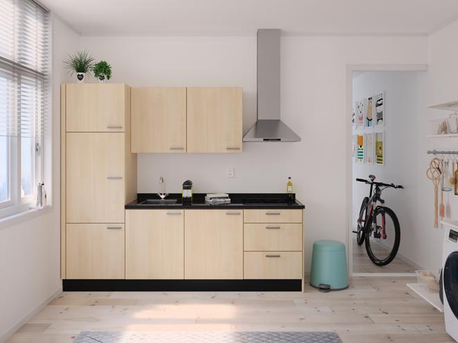 Bribus keuken - keukenontwerp Keukenontwerp 122506 - Studio B