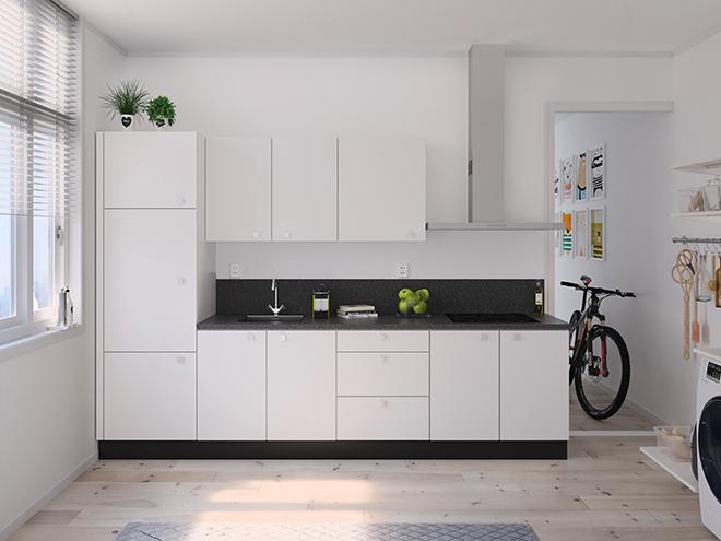 Bribus keuken - keukenontwerp Keukenontwerp 122601 - Studio B