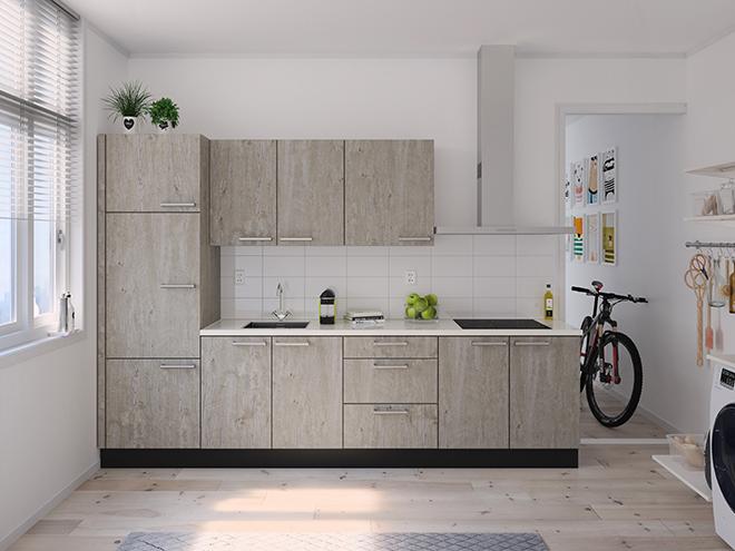 Bribus keuken - keukenontwerp Keukenontwerp 122606 - Studio B