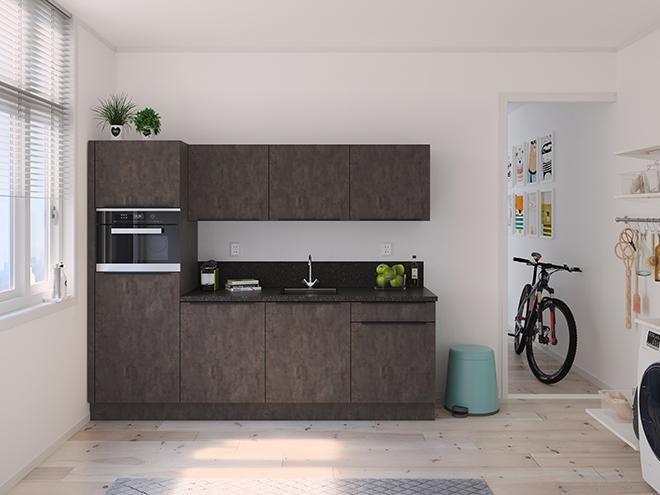 Bribus keuken - keukenontwerp Keukenontwerp 122702 - Studio B