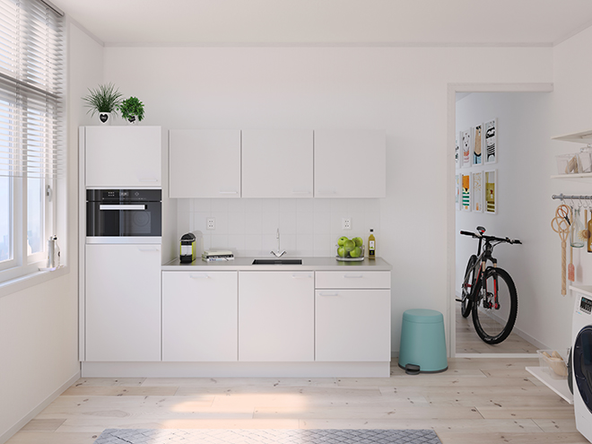 Bribus keuken - keukenontwerp Keukenontwerp 122704 - Studio B