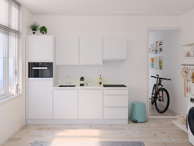 Bribus keuken - keukenontwerp Keukenontwerp 122801 - Studio B