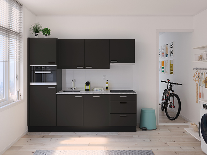 Bribus keuken - keukenontwerp Keukenontwerp 122802 - Studio B