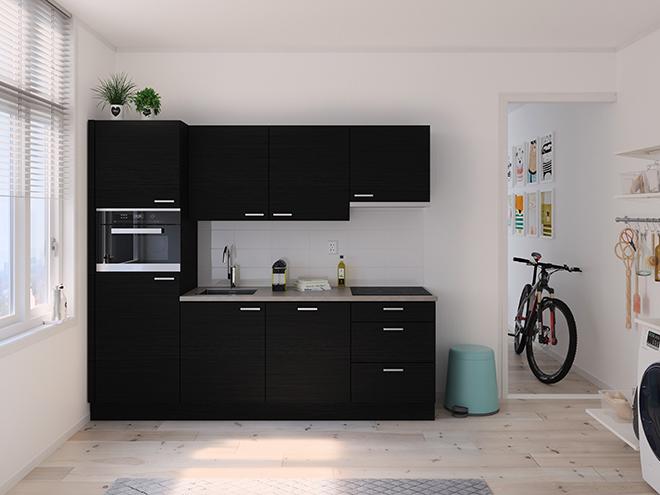 Bribus keuken - keukenontwerp Keukenontwerp 122803 - Studio B