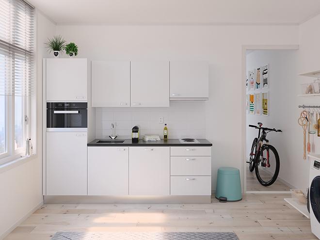 Bribus keuken - keukenontwerp Keukenontwerp 122804 - Studio B