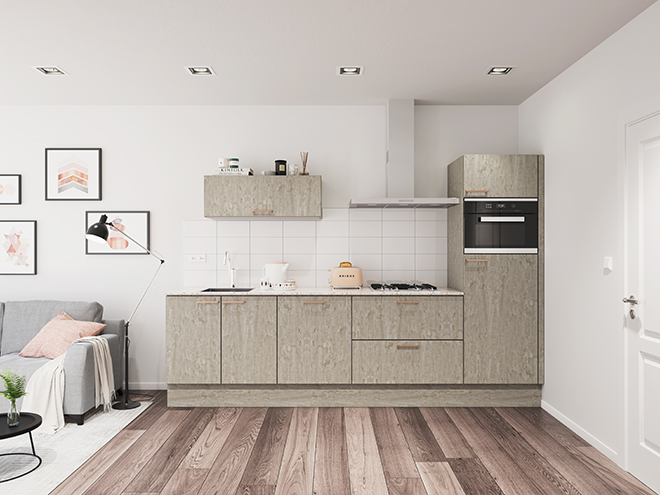 Bribus keuken - keukenontwerp Keukenontwerp 136707 - Studio B